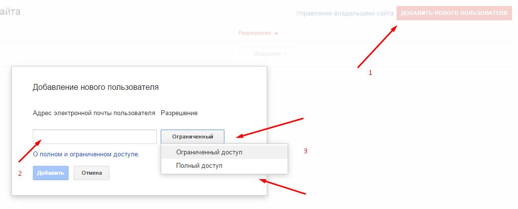 Центр для вебмастеров Google